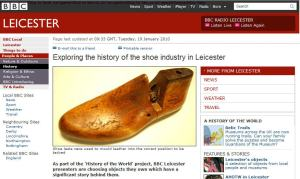 BBC Leicester Shoemaking