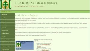 Forres Falconer Museum Oral History Project
