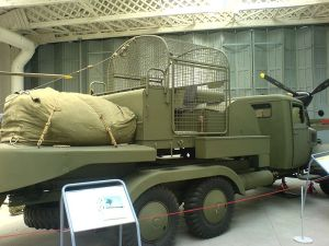 Barrage Balloon Vehicle at Duxford Airforce Museum Source: wikicommons