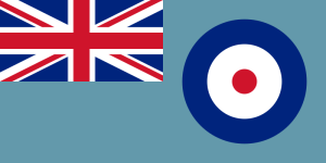 Ensign of the Royal Air Force  Source wikicommons