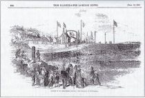 Lossiemouth railway opening September 18th 1852