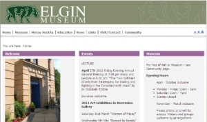 Link to Elgin Museum Website