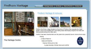 Link to Findhorn Heritage Centre and Icehouse