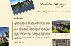 Link to the Fochabers heritage centre