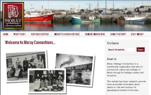 Link to the Burghead Headland Trust information on the Moray Connections Website
