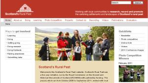 Scotland's Rural Past Website