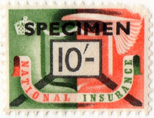1951 national insurance stamp