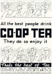 1936 Co-op tea advert source www.historyworld.co.uk