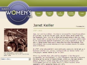 Story of Janet Keiller Dundee Women's Trail