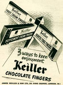 keiller advert from 1953  Click here to link to the source website.