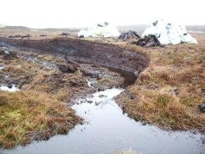 Peat Cutting Shetland