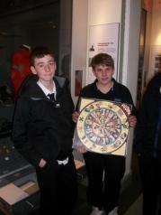 Elgin Museum visit by Elgin High school students