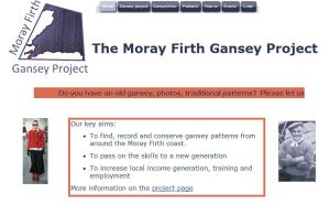 Link to the Moray Firth Gansey project