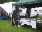Memory Project Stall Aberlour Highland Games 2012