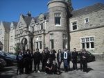 Elgin High Group picture at Abbeyvale care Home In May and June 2012