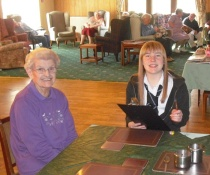 Elgin High Elective at Abbeyvale care Home In May and June 2012