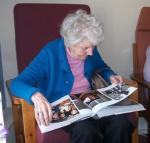 Looking at Photo Collection Books Linnburn Day Centre at Rothes