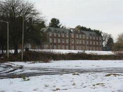 Disused nurses' home at Bangour
