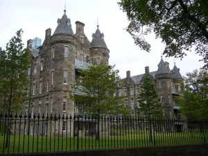 Hospital wards of the old Royal Infirmary, Edinburgh