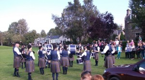 Aberlour Community and District Pipe Band. (recently formed)