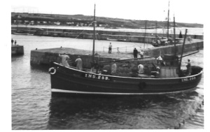 Seine net trawler Hopeman 1958 © Copyright Christopher Gillan and licensed for reuse under this Creative Commons Licence.