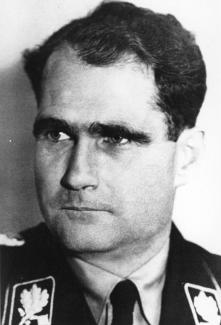 Rudolf Hess Source: Wikipedia on a Wikicommons license
