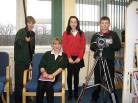 A Videomaking team