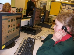 Kinloss edting session using Windows Movie Maker