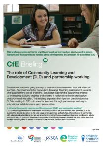 CfE briefings 10
