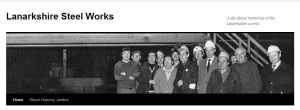 Lanarkshire Steel Works memories website