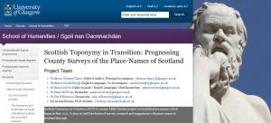 Scottish Toponymy website- placenames of Scotland