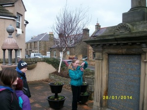 Burghead War memorial