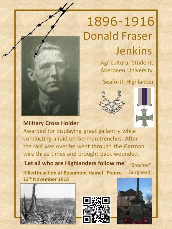 Donald Fraser Jenkins poster