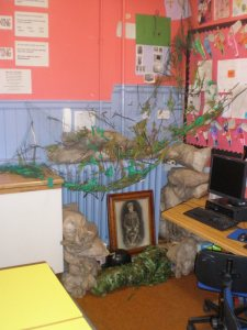 An example of a Trench P6 Aberlour Primary School