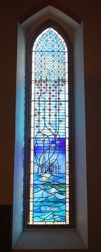 Piper Alpha Memorial Window  source: wikicommons